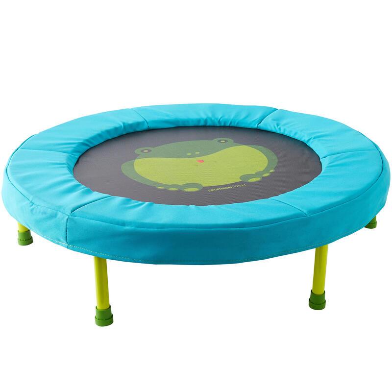 Mini trampoline voor peuter- en kleutergym