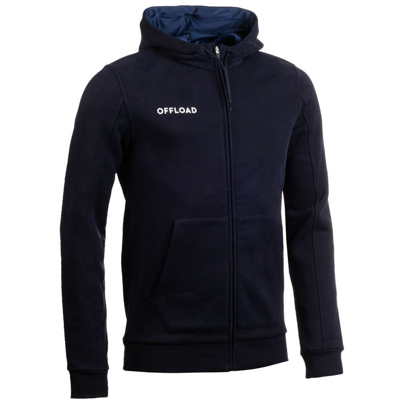 CLUB APPAREL OFFLOAD Rugby - R500 Adult Club Zip-Up Jacket OFFLOAD - Rugby Clothing