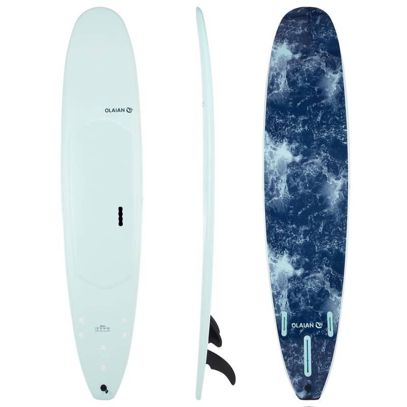 SURFBOARD SKÚSENÍ - LONGBOARD 900 SOFT 9' 100 L OLAIAN