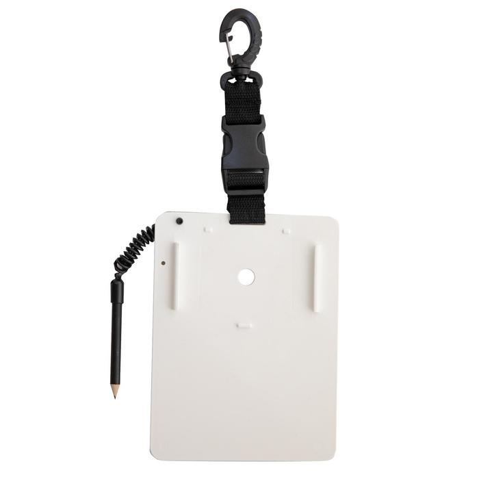 Pizarra de Comunicación SCD con soporte para espejo y lápiz con bungee