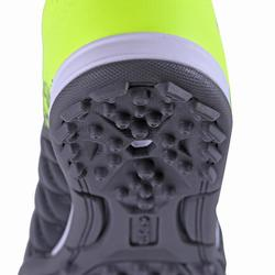 Agility 500 HG Kids' Hard Ground Rip-Tab Football Boots - Black/Yellow