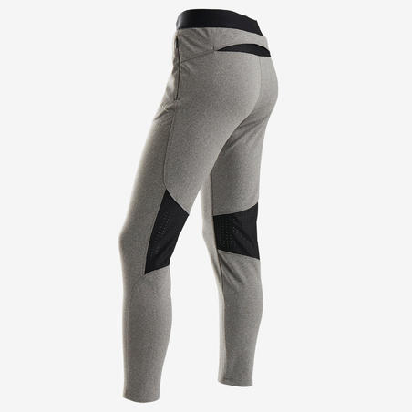 S900 Warm Slim-Fit Breathable Gym Bottoms Grey - Girls