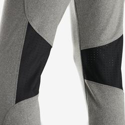 Pantalon chaud slim respirant S900 fille GYM ENFANT gris