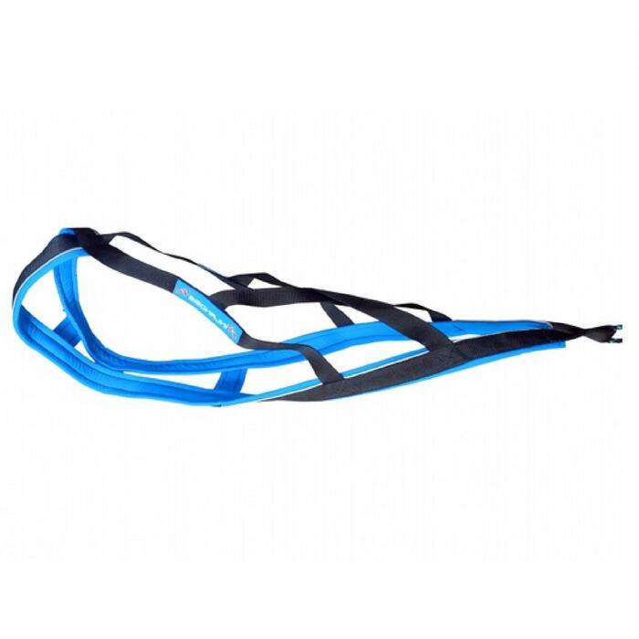 Tuigje voor canicross/bikejöring/ski-jöring Blizzard Beast blauw/zwart