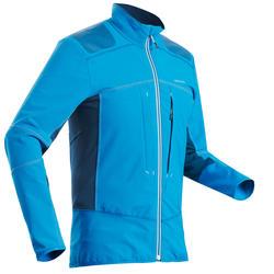 Softshelljacke Winterwandern SH900 Warm Herren blau