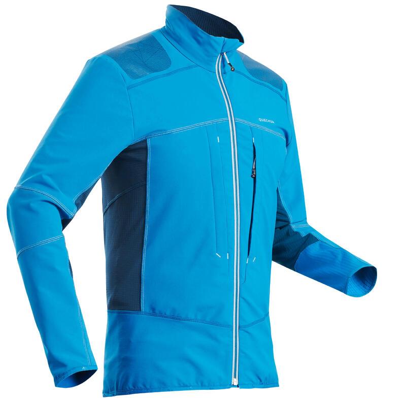 Softshell montagna uomo SH900 WARM blu