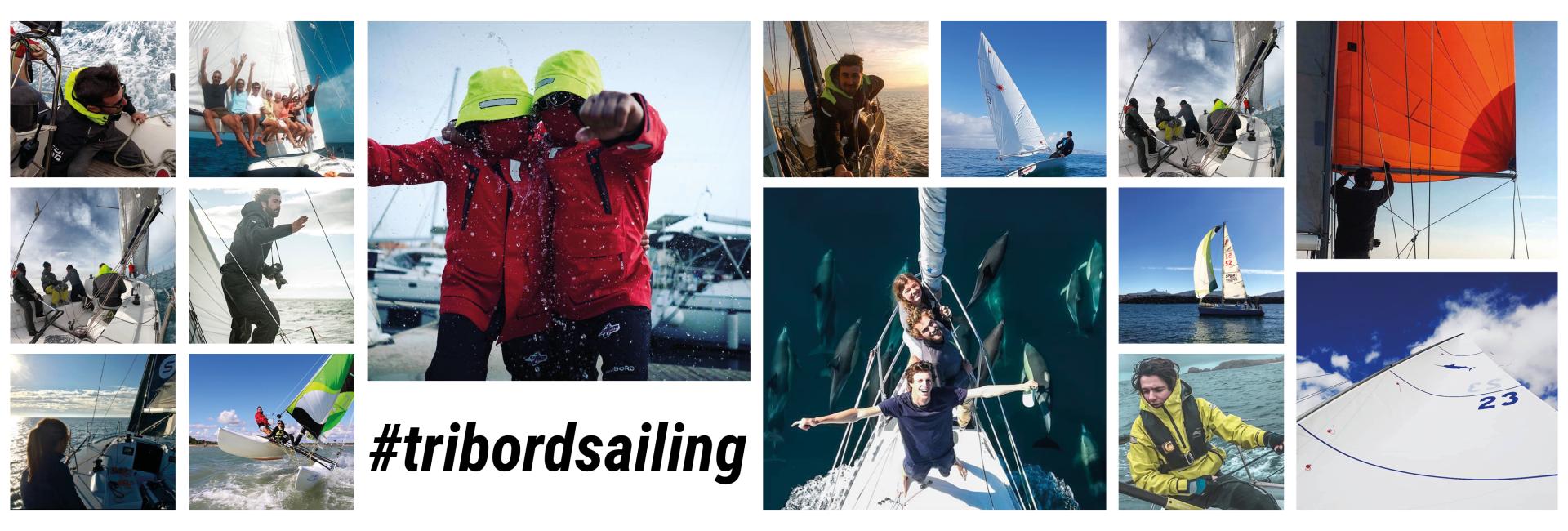 Rejoignez nous sur le Instagram @tribordsailing