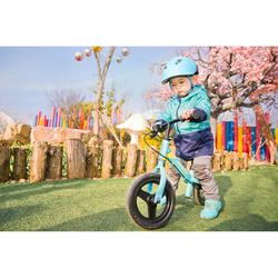 Run Ride 500 Kids' 10-Inch Balance Bike - LIGHT BLUE