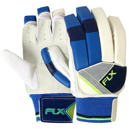 CRICKET BATTING GLOVE JR- RIGHT HAND FLOURESCENT