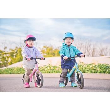 Run Ride 500 Kids' 10-Inch Balance Bike - White/Pink
