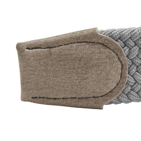 Cinturón de golf extensible adulto gris talla 1