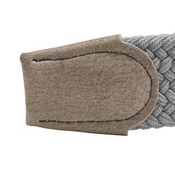 Rekbare riem voor golf, volwassenen, grijs maat 1