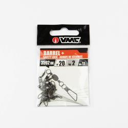 Tonwartel voor matchvissen + speldconnector veiligheid X11