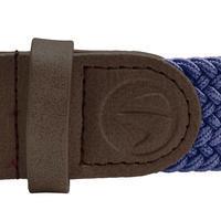 Navy Blue Adult Stretchy Golf Belt Size 2