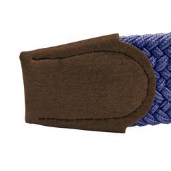 Navy blue adult stretchy golf belt size 1