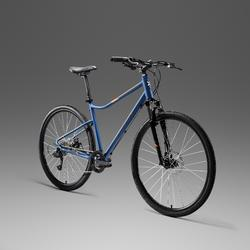 "Cross Bike 28"" Riverside 500 Alu blau"