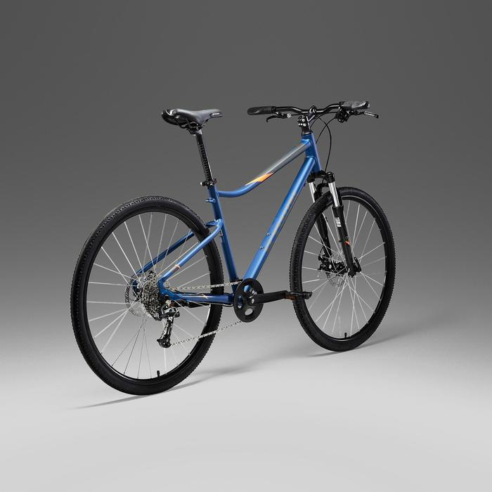 Cross Bike 28 Zoll Riverside 500 Alu blau