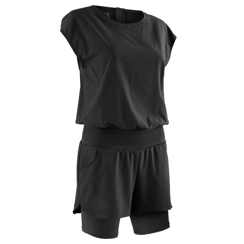 ABBIGLIAMENTO TRASPIRANTE DONNA Running, Trail, Atletica - T-shirt+Pantaloncini RUN DRY+ KALENJI - Abbigliamento Running