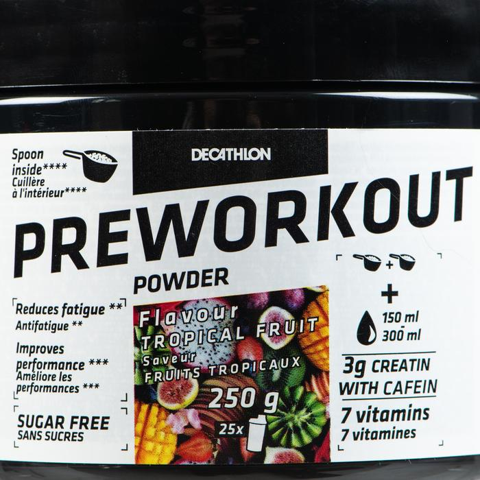 Preworkout 250g Tropical