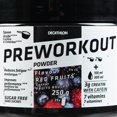 PREWORKOUT FRUITS ROUGES 250 grs