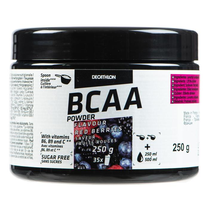 BCAA 2.1.1 FRUITS ROUGES 250 grs