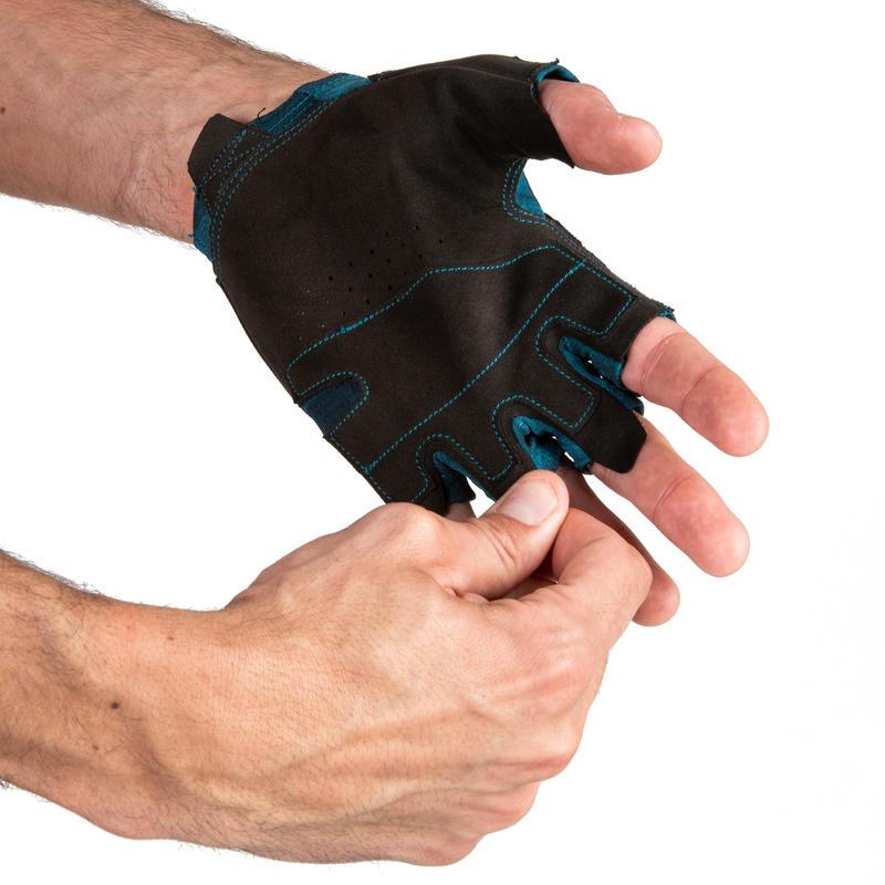 Weight Training Glove - Black/Blue