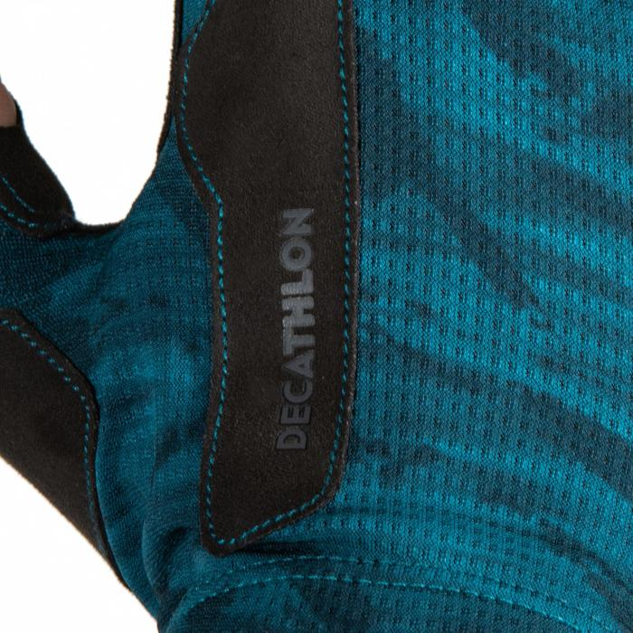 Trainingshandschoenen voor krachttraining blauw