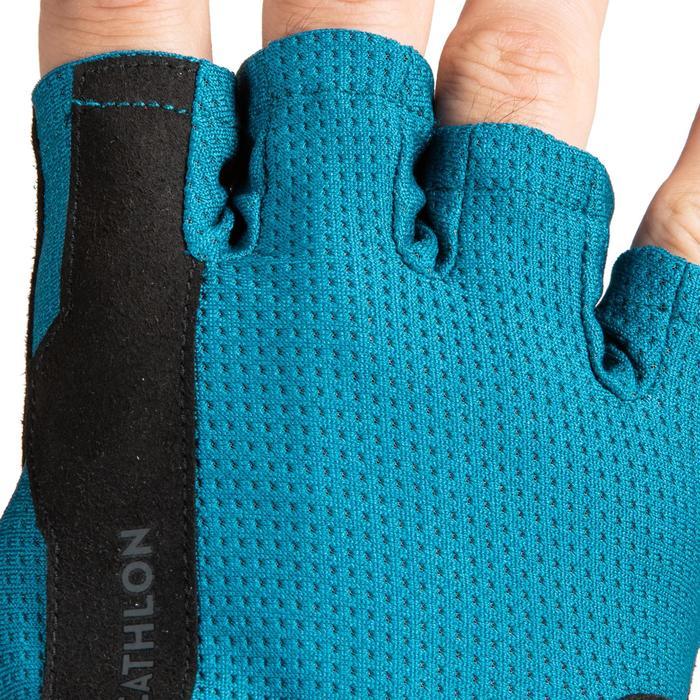 Handschoenen voor krachttraining 500 turquoise