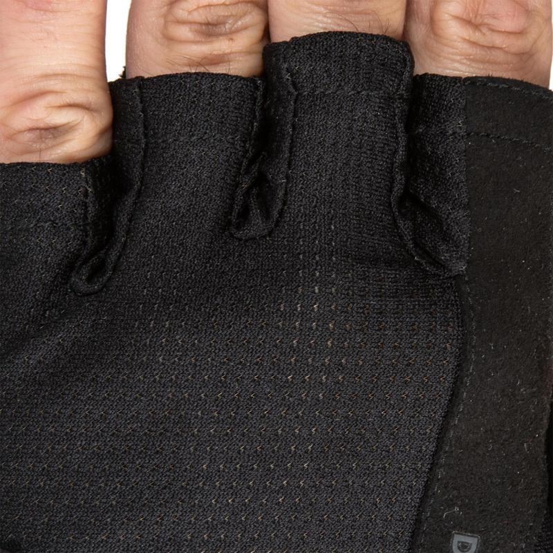 Weight Training Gloves 500 - Black
