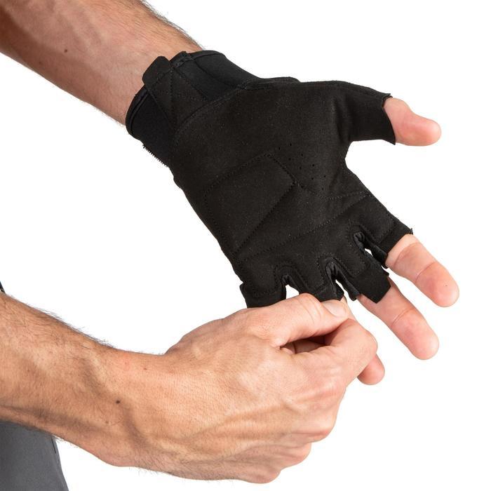 Handschoenen voor krachttraining 500 zwart