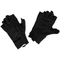 Fitness handschoenen 500 krachttraining, zwart