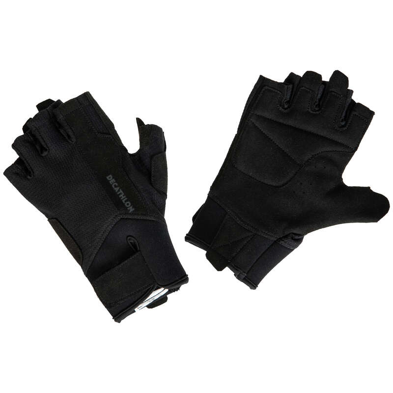 GLOVES, BELTS, APPAREL Fitness and Gym - 500 Weight Training Glove DOMYOS - Fitness and Gym