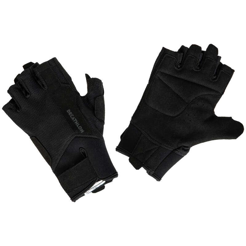 ПЕРЧАТКИ, ПОЯСА, ОДЕЖДА СИЛОВ ТРЕН Аксессуары - Перчатки для .ренировок 500 DOMYOS - Головные уборы и перчатки