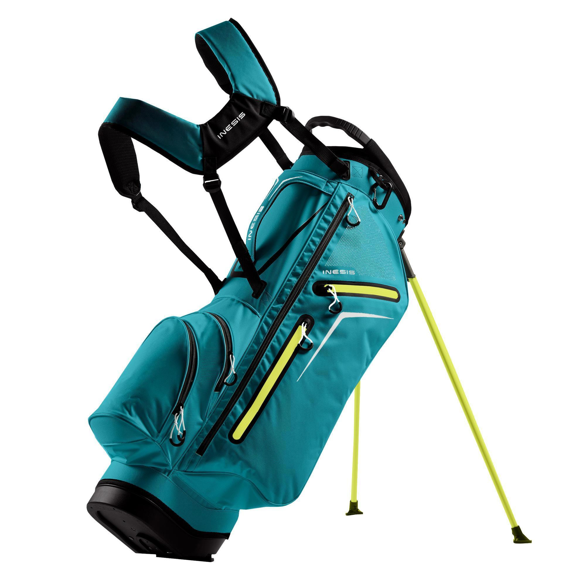 Light Stand Golf Bag: STAND BAG GOLF LIGHT TURQUOISE