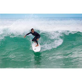900 Foam Surfboard 6'. Supplied with 3 fins
