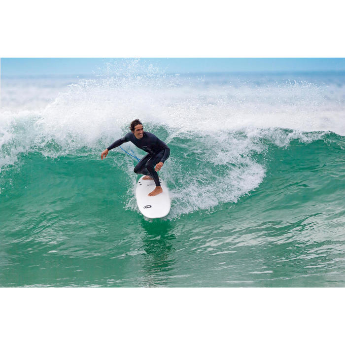 Traje Surf 500 Hombre Neopreno 3/2 mm Azul Marino