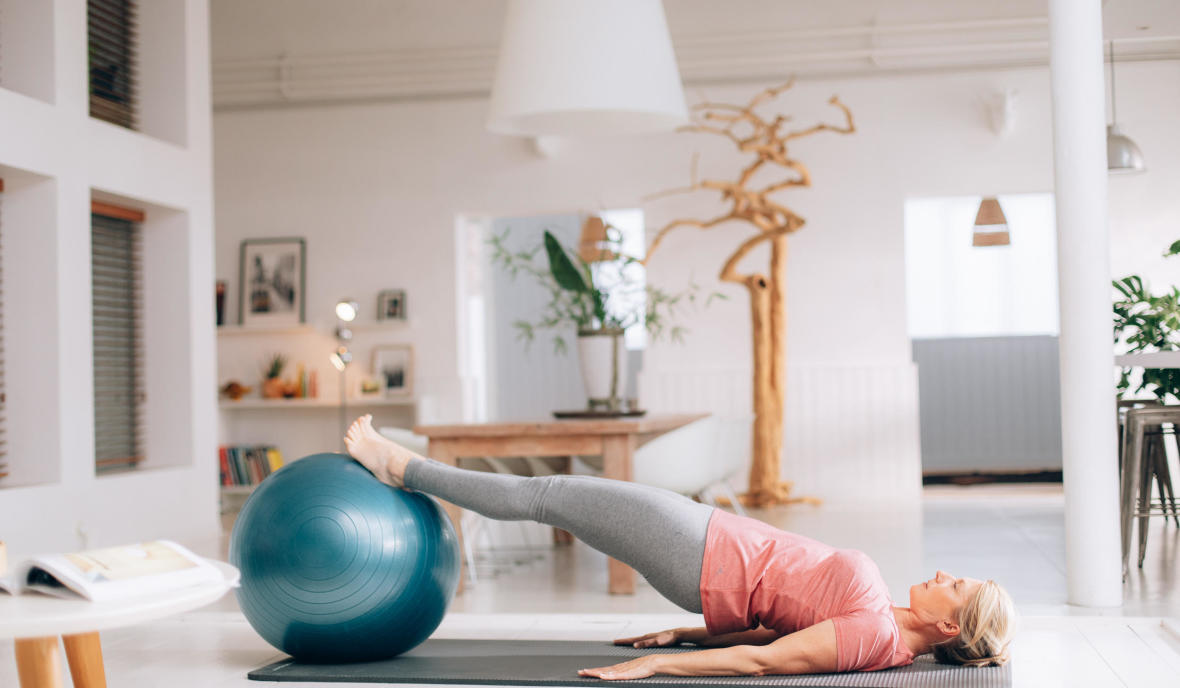 accessoire pilates swiss ball