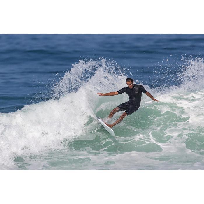 Combinaison Surf shorty 900 Néoprène No Zip Homme noire