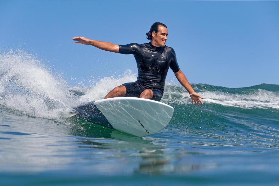 combinaison de surf à ouverture zip less