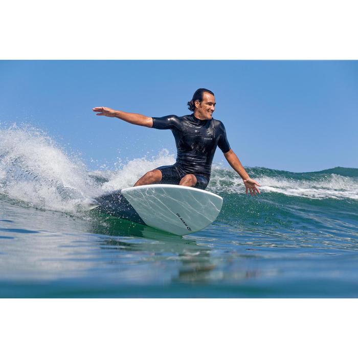 Shorty voor surfen heren 900 neopreen 2 mm no zip zwart