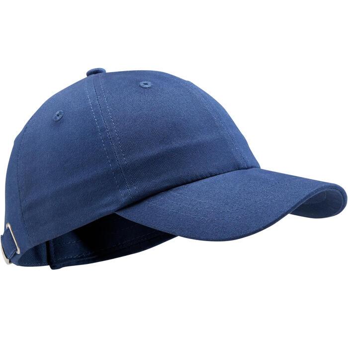 Gorra Fitness Domyos W100 Niña Niño Azul Estampado