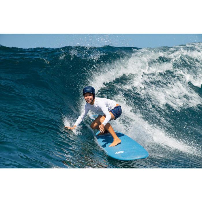 Bañador Corto Surf Olaian 500 Chibou Niño Rojo