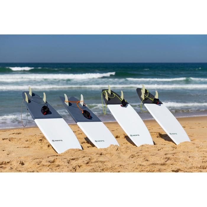 """Planche de surf rigide 6'2"""" egg 900. Livrée avec 3 ailerons."""