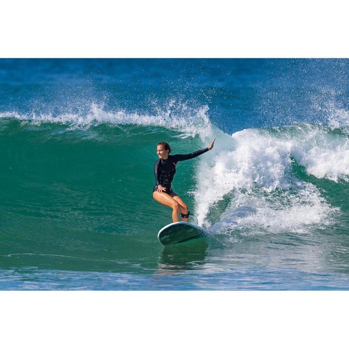 """Foam surfboard 9"""" 900. Inclusief 2 +1 vinnen."""
