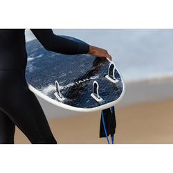 Planche de surf en mousse 6' 900. Livrée avec 3 ailerons.