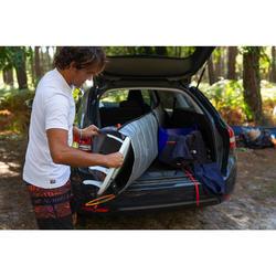 Aanpasbare boardbag voor surfboards van 5'4 tot 7'2 (162 tot 218 cm)