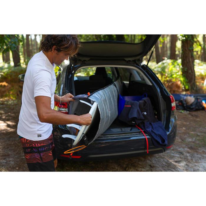 Boardbag Transporthülle verstellbar für Surfboard 7'3–9'4 (221–285 cm)