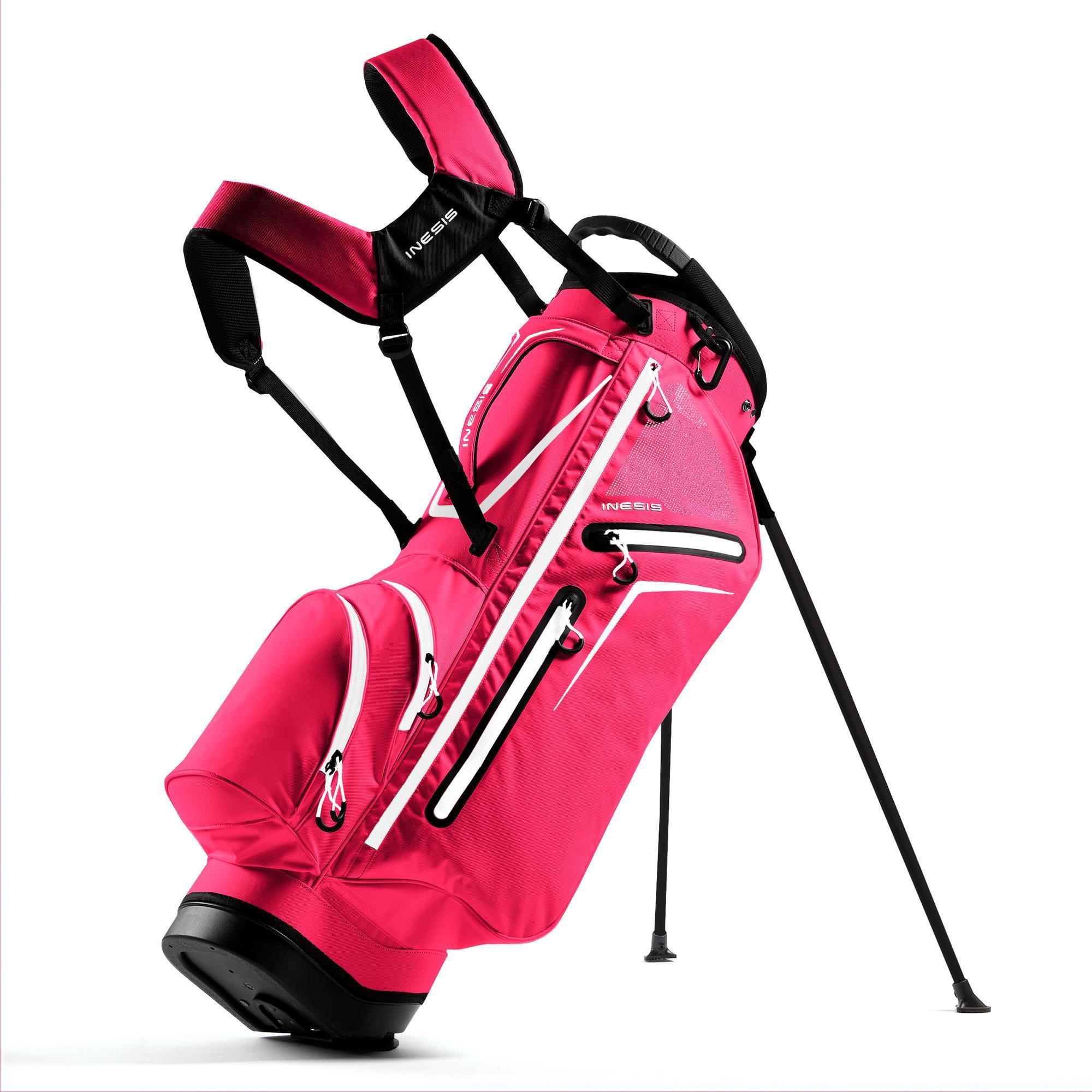 Inesis Standbag voor golf Light roze kopen