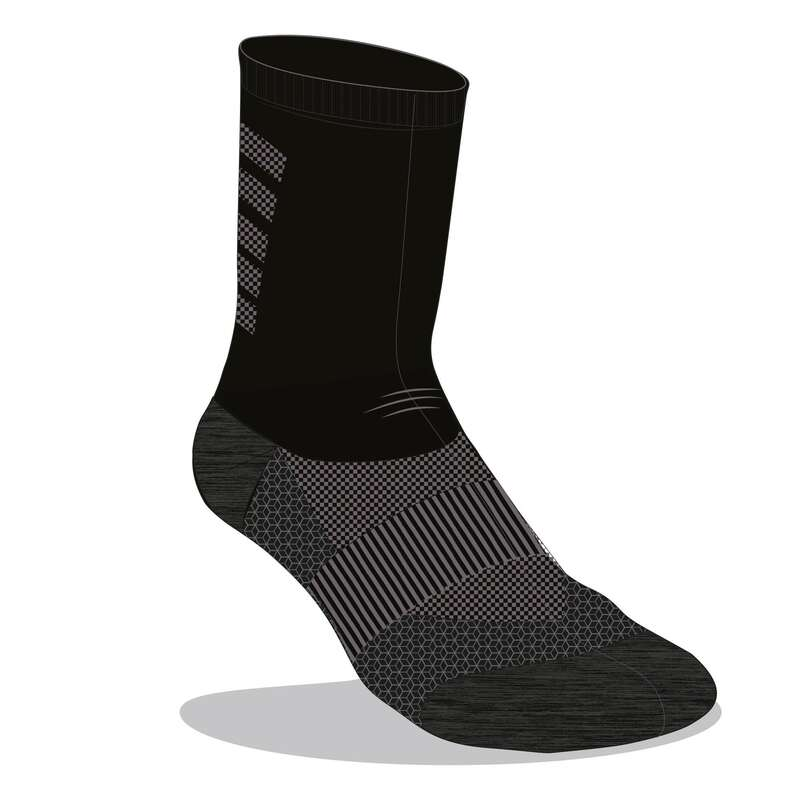 ЧОРАПИ ЗА БЯГАНЕ Последни бройки - чорапи RUN900 с вълна KIPRUN - Специални предложения
