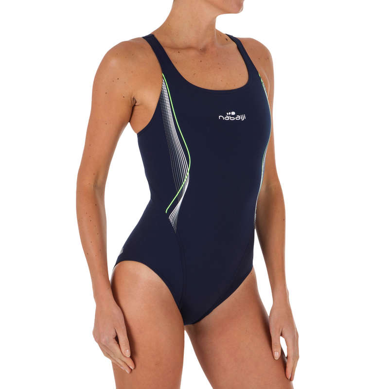 WOMEN'S SWIMSUITS Swimming - KAMIYE 1P SWIMSUIT NABAIJI - Swimwear